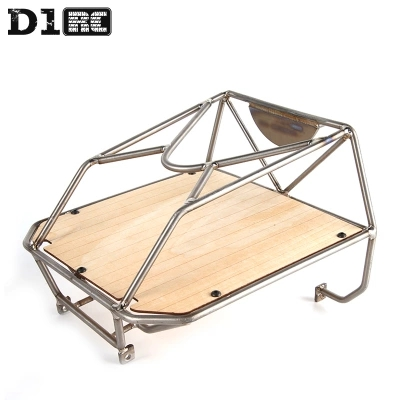 D1RC Original High Quality Metal Bucket Roll Cage back cage For Axial AX80046 SCX10 AX90022 Crawler