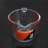 Chef Made Baking Tools Home Baking Measuring Tools High Borosilicate Glass Pyrex Apprentice Use Chips Cook