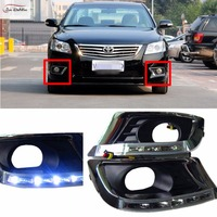 JanDeNing LED Daytime Running Light Driving Lights DRL Replacement Kit For Toyota Camry 2009 2011