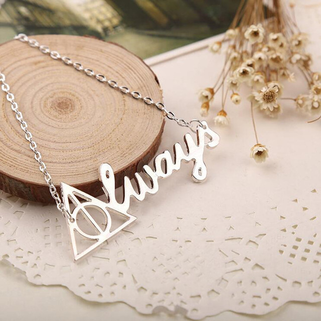 Harry Potter Magic School Badge Necklace Fashion jewelry