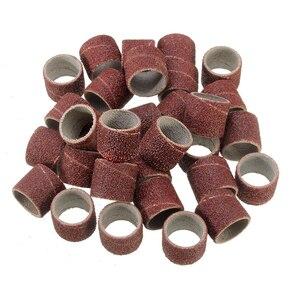 Image 3 - Mini kit de brocas rotativas, conjunto de ferramentas rotativas com 150 peças, ferramenta de polimento, lixamento de haste, acessório de polimento bit bit