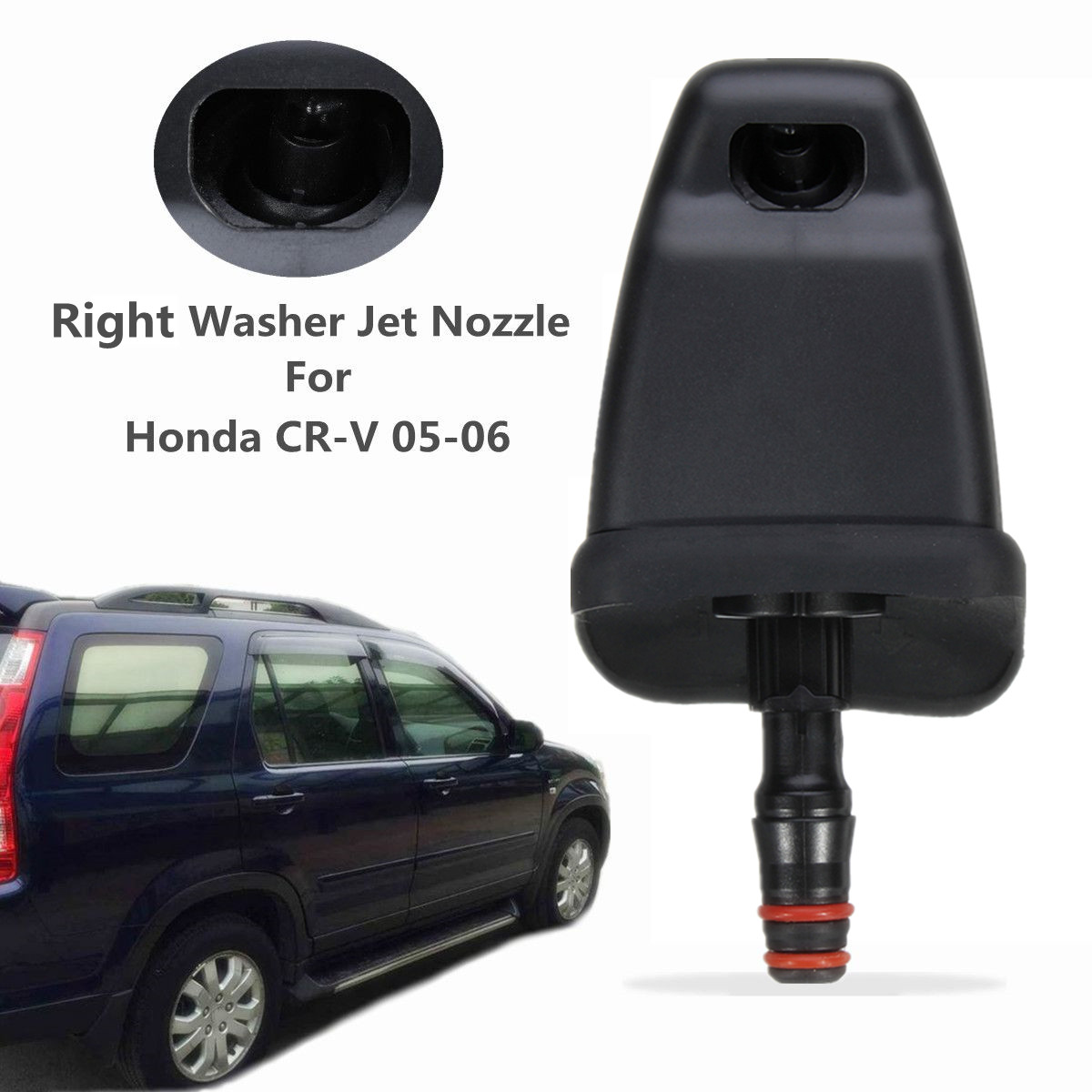 1Pc Right Headlight Washer Spray Jet Nozzle Fit For Honda CRV 2005-2006 76880-SCA-S11