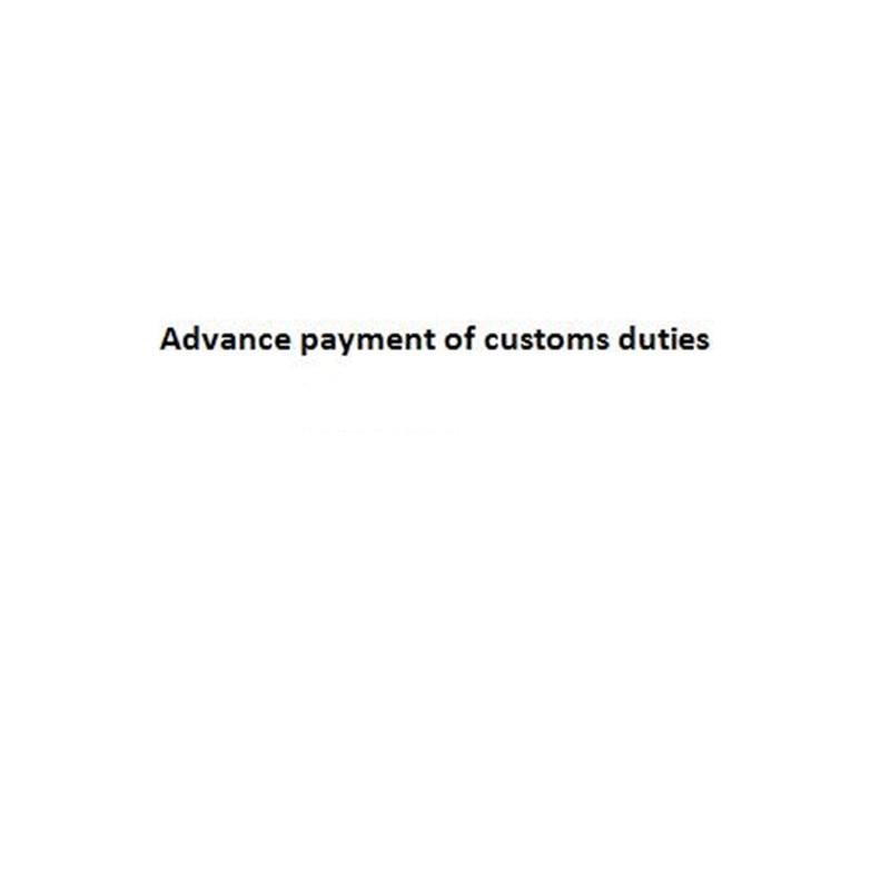 Vooruitbetaling van douanerechten 25 - Feestversiering en feestartikelen - Foto 1