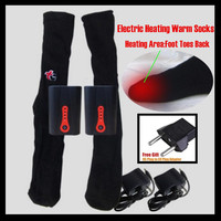 JPR Outdoor Carbon Fiber Far Infrared Electric Heating Socks Smart Control Temperature Self Heating Warm Socks