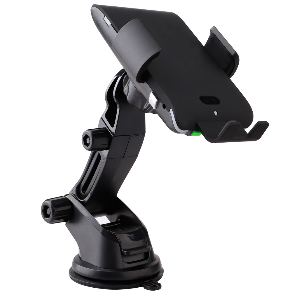 Car Wireless Charger For Samsung S8 S9 Plus Fast Charging Phone Holder with Suction cup mount