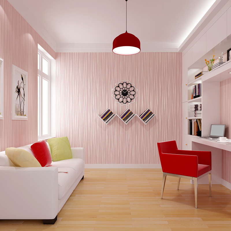 5m 3D Stripe Pattern Peel and Stick Wallpaper Self adhesive Wall ...