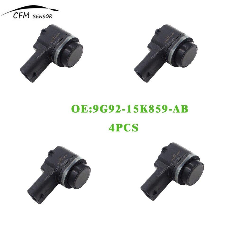 4pcs new 9g92 15k859 ab front pdc parking sensor for ford. Black Bedroom Furniture Sets. Home Design Ideas