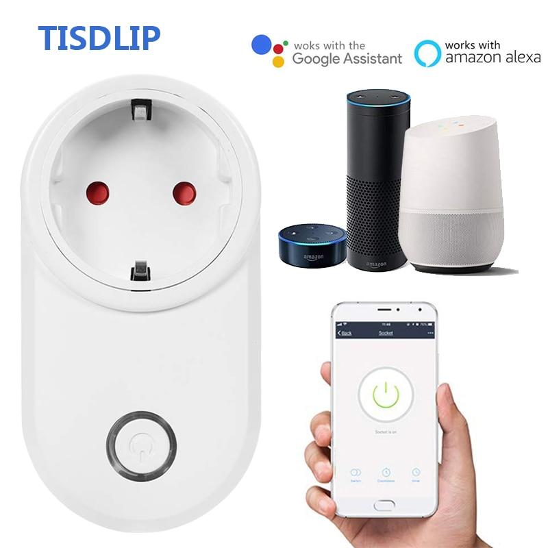 Preiswert Kaufen Tisdlip Smart Stecker Wifi Control Buchse Power Fernbedienung Smart Timing Schalter Eu Uk Us-stecker Für Smart Homekit Automatisierung üBerlegene (In) QualitäT