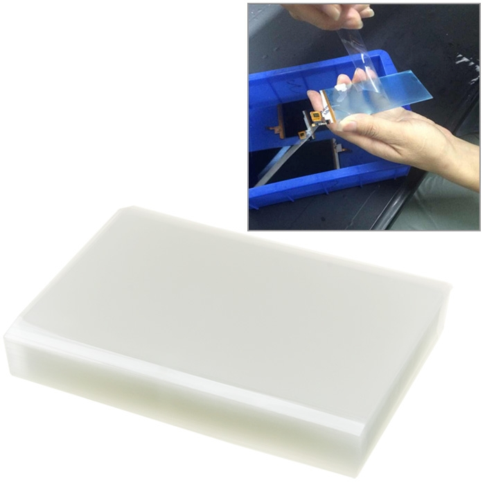 50 pz per iPhone 6 Plus e 6 s Plus Mitsubishi 5.5 pollice OCA Ottico Adesivo Trasparente