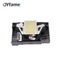OYfame For Epson L800 F180000 Original Print head R290 R280 R285 T50 PM G860 A840 A940 T960 PX650 EP702A EP705A printhead