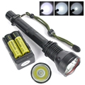 Hot sale XM-L T6 3000Lumens LED Torch Flashlight Flash light 18650 Linterna led lampe torche For Outdoor Camping Hunting