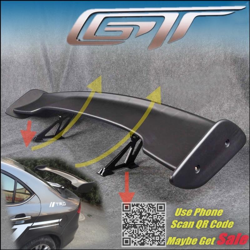 Grosse voiture GT arrière Spoiler aile queue déflecteur / tronc lames Drift pour Nissan Silvia S13 S14 S15 200SX Tuning vue haute ténacité