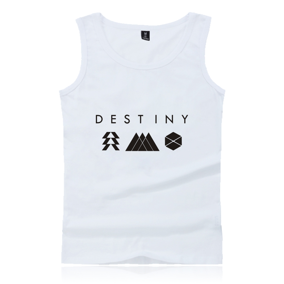 Women Shirt Couple Destiny Tank Tops Summer Style O-Neck Printing Fashion Trend Men Clothes Destiny Men Shirt Clothes 4XL