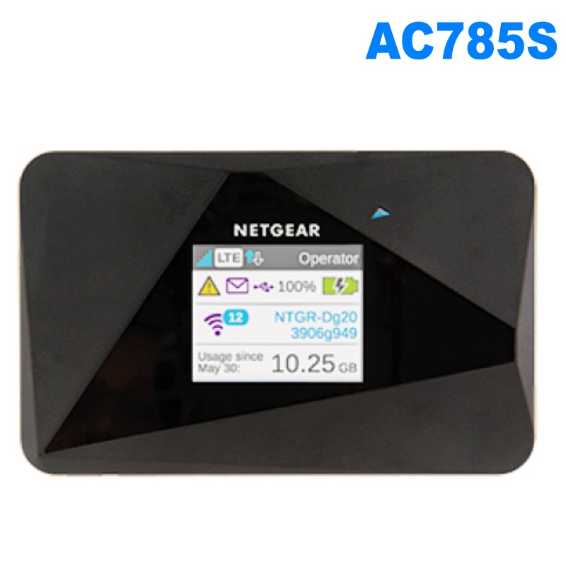 US $68.0  Unlocked Netgear Aircard AC785s 785s LTE 4g router 4g lte mifi router 4G LTE pocket wifi router Hotspot pk e5876 782s e5878 Modems 