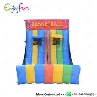 ENJOYFUN Juegos Inflatable Basketball Game Gonfiabile Inflatable Basketball Shooting Inflatable Toys sport For Kids #IS1006