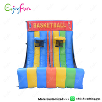 ENJOYFUN Juegos Inflatable Basketball Game Gonfiabile Inflatable Basketball Shooting Inflatable Toys sport For Kids #IS1006