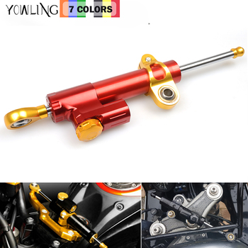 Motorcycle Damper Stabilizer Damper Steering Reversed Safety Control For Kawasaki NINJA 250 300 650 ZX6R Z1000SX ZX-12 R ZX-9R