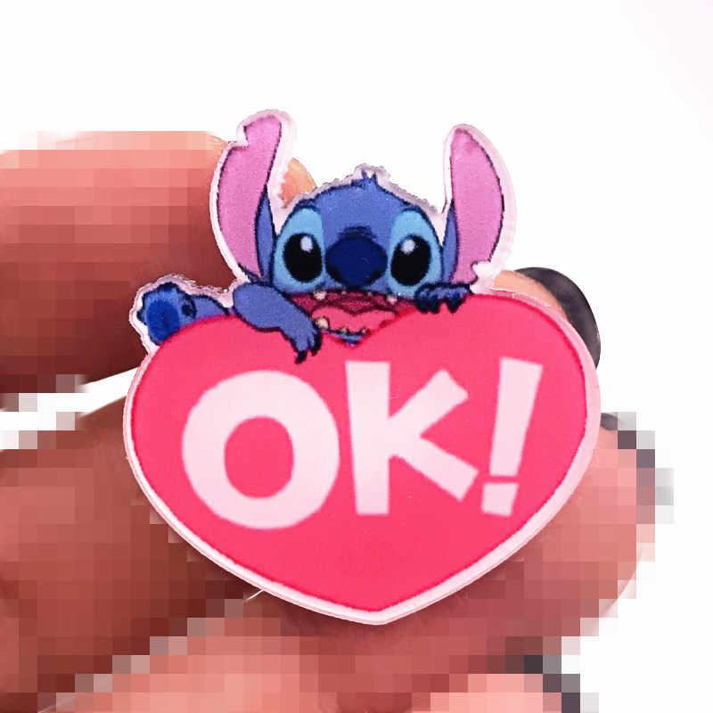 1 Pcs Hot Jual Captain Gantu (Lilo & Stitch Kartun Animasi Karakter Bros Monster Kecil Kartun Acrylic Lencana Dekorasi Ransel Anak