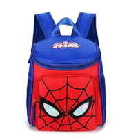 2018 High Quality Kids Spider Man Superman Backpacks For Children Waterproof Cartoon Kids School Bags For