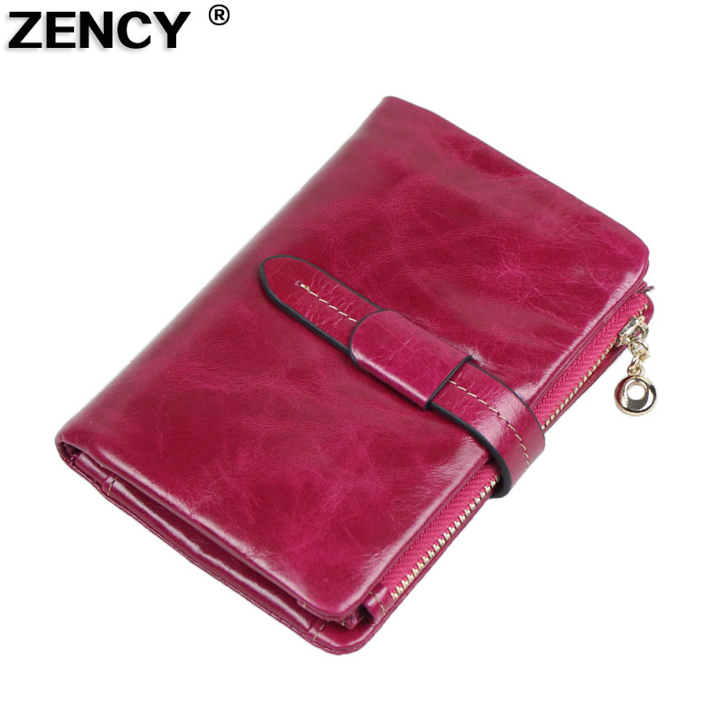 Casual Fashion Free shipping First Layer Natural Oil Wax Genuine Leather Cowhide Women Female Wallet Purse Money Card Holder 2015 top fashion toner parfumes women free shipping special offer free shipping genuine moist skin zimei tea tree oil acne water