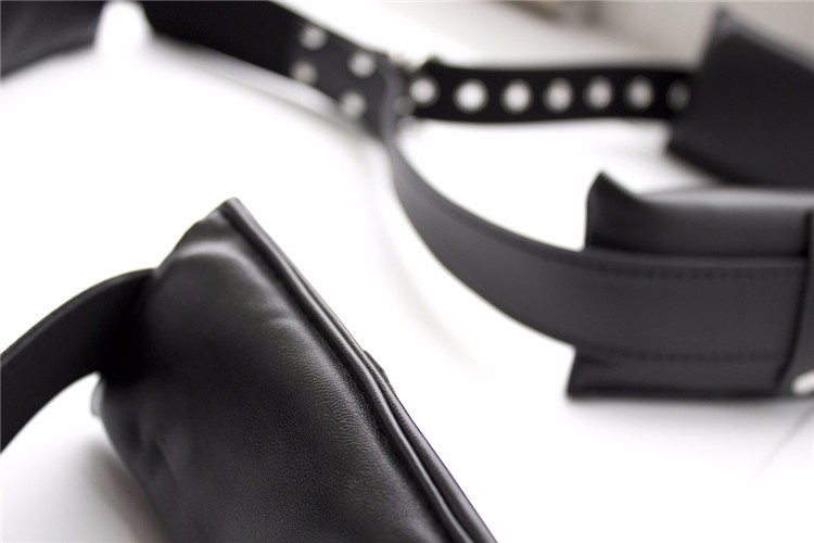 Cosplay SM Game Neck Leg Thigh Cuff Strap Adult Sex Toy Restraint Bondage Kit fantasy Adult erotic For Couples Spreader 4