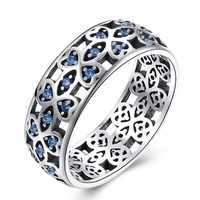 Silver 925 Jewelry Vintage Ring Rings For Women Anel Bague Femme Sterling Silver Anillos Mujer Wedding