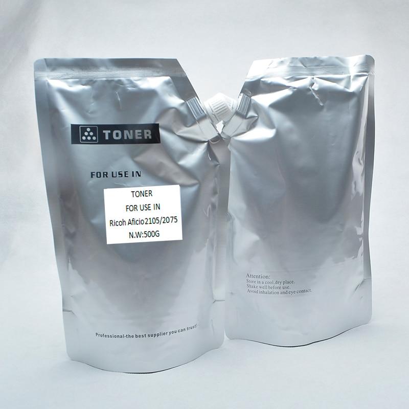 High quality! (3pieceslot)Compatible Toner Powder For Ricoh Aficio 2105207510851075