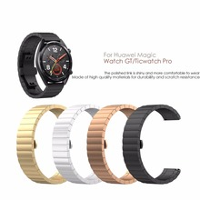 Replacement stainless steel Watchband Watch Band for Huawei Magic/Watch GT/Ticwatch Pro watch strap for huawei ticwatch