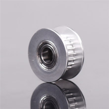 Baru 20 T Sabuk Lebar 6 Mm GT2 Belt Idler Pulley 5 Mm Bore Aluminium 3D Printer Parts Berkualitas Tinggi(China)