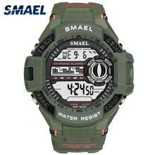 SMAEL Watch Men Digital Top Brand Luxury relogio masculino Big Sport Watches for Men Waterproof 1516B Men Wtaches Sport Military