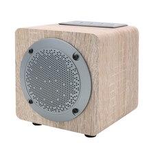 ZOP Деревянный беспроводной Bluetooth динамик Портативный hifi звуковая система 3D стерео музыка сабвуфер динамик s