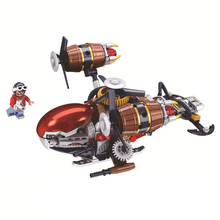 Age Of Steam Creator Kirov Airship Building Blocks Sets Bricks Classic City Aircraft Movie Model Kids Toys Compatible Legoings