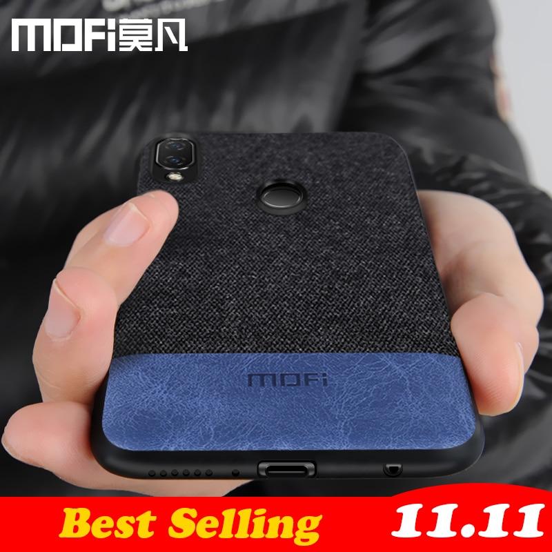 hot sale online 0f31c 275f7 Huawei Nova 3I Case Cover Nova3i Back Cover Silicone Edge Fabric Shockproof  Phone Case Capas Original Nova 3I Case