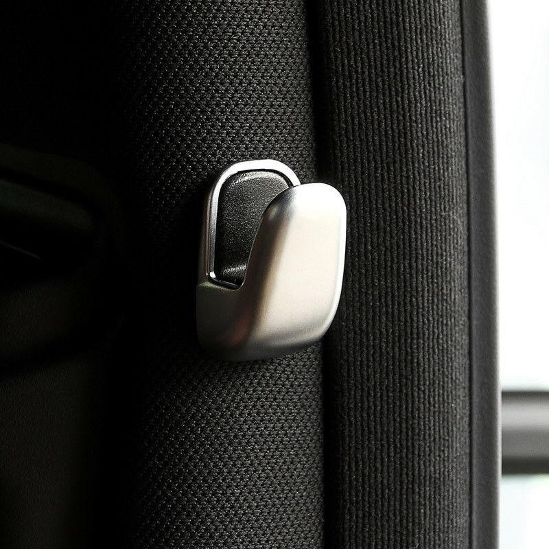 Крюк серебристое покрытие отделка B столб для Mercedes Benz E Class W212 W213 S Class W222 3,2*2 см новейшая распродажа в наличии