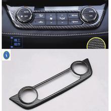 Yimaautotrims Per Toyota RAV4 Rav 4 2016 2017 2018 ABS Accessori di Controllo Centrale Aria Condizionata AC Pulsante Telaio di Copertura Trim