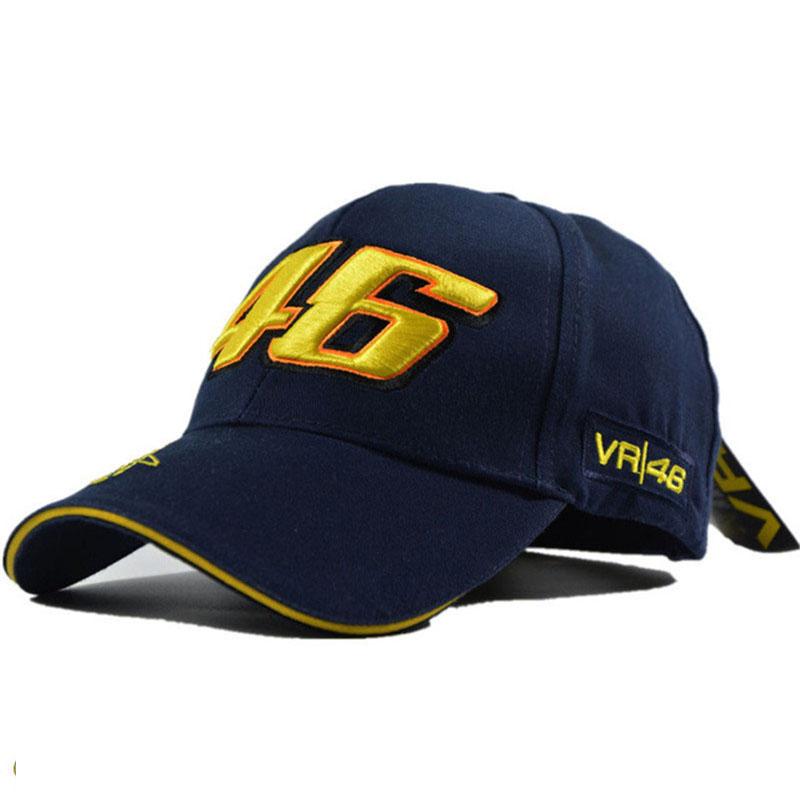 100% Cotton rossi vr 46 hat High quality men baseball caps moto gp racing cap snapback hat Casquette gorra bone