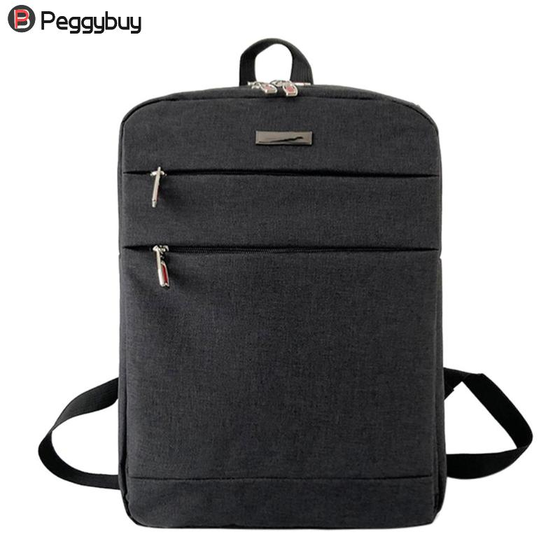 Waterproof Men Business Computer Laptop Backpack Quality Boys Men's Grey Leisure Backpacks