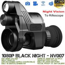 7f9c417e20 PARD NV007 lunette de vision nocturne monoculaire IR Nuit Vision tactique  Fusil Portée Caméra Wifi jour nuit Trail chasse Télesc.