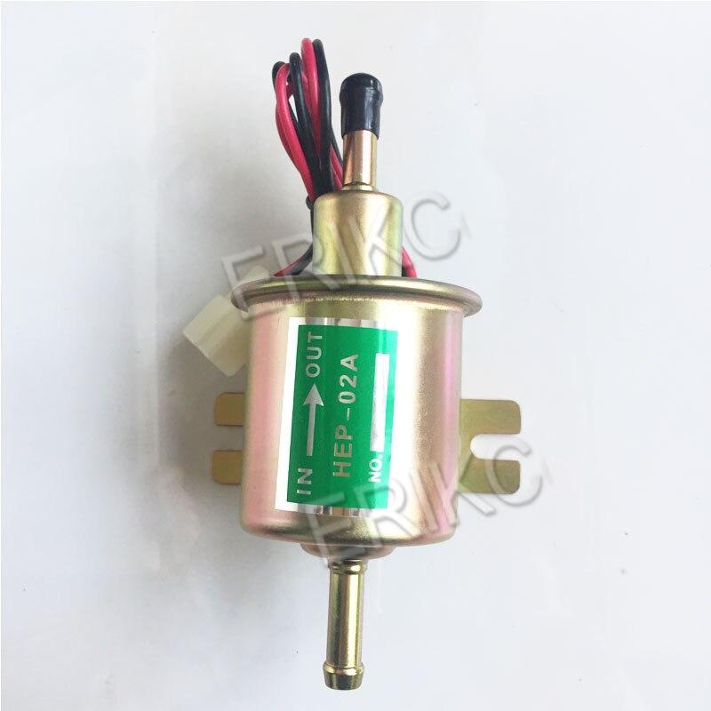 erikc hep 02a universal diesel gasolina 12 v bomba de combustivel eletrica para o carburador carro