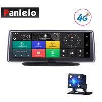 Автомобильный Android gps навигация 7,84 Автомобильный видеорегистратор DVR 3g/Сеть 4G сенсорный экран Bluetooth приложение управление Wi Fi камера заднег