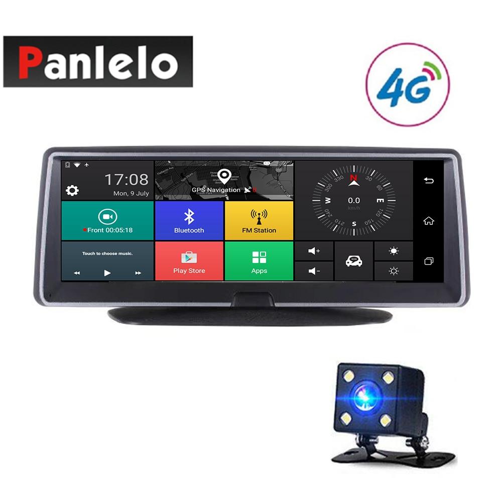 Voiture Android navigation gps 7.84 caméra de tableau de bord pour voiture DVR 3G/4G Réseau écran tactile Bluetooth APP Contrôle Wi-Fi Vue Arrière caméra