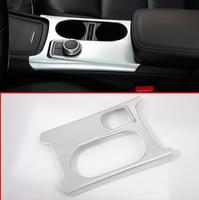 Right Hand Drive Car Cup Holder Cover Trim For Mercedes Benz CLA GLA A Class C117 W176 X156 2012 2019 ABS Chrome Accessoires RHD