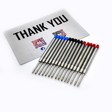 STOCK  Pen Refill ballpoint pen refill with free shipping and wholesale price 100 pcs in a lot