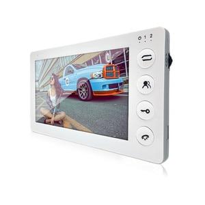 Image 3 - Dragonsview  7 Inch Video Door phone Intercom System  Doorbell with Camera 1200TVL 3v1 Record Unlock Dual Way Talk