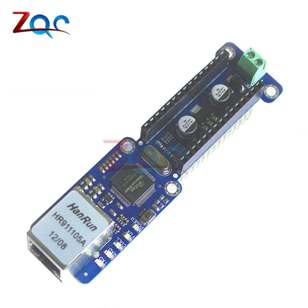 Nano W5100 Ethernet Bouclier LAN Réseau Ethernet Module Micro-SD Support TCP UDP Pour Arduino V3.0 R3 UNO Mega 2560 Un