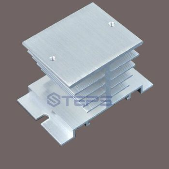 5PCS/lot single-phase solid state relay radiator SSR10A 25A 40A Aluminum heat sink radiator 50X50X80mm