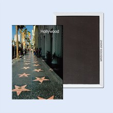 Free Shipping over $12, US California  Avenue of stars Hollywood Rectangle Metal Fridge Magnet 5433 Tourism Souvenir
