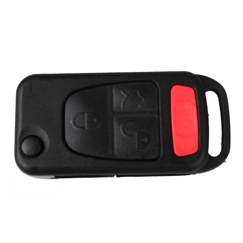 IZTOSS 4Buttons Car Panic Floding Replacement Keyless Entry Remote Fob Key Shell Case For Mercedes Benz