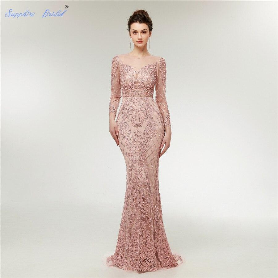 Sapphire Bridal 2019 Autumn Winter Long Sleeve Formal Evening Gowns ...