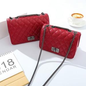 Image 2 - crossbody bags for women channels shoulder bag woman bags 2019 bag handbag fashion handbags women Diamond Lattice